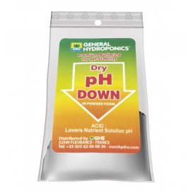 Ph - Down Seco 25 g de Terra Aquatica - GHE General Hidroponics