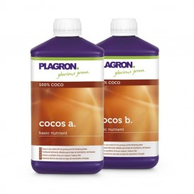 Coco A+B 1 L de Plagron Fertilizante