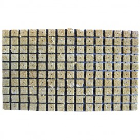 Bandeja de taco de lana de roca 25 x 25 x 40 cm 150 alveolos