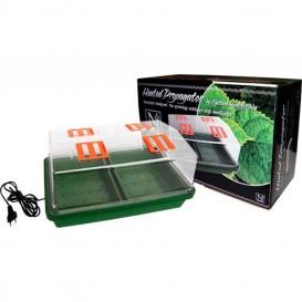 Invernadero propagador rígido con calor 38 x 24 x 19 cm Nept
