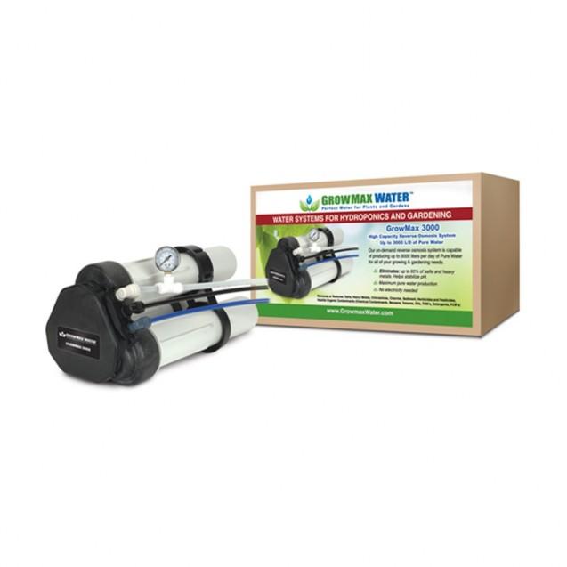 Filtro de ósmosis inversa Growmax Water Growmax 3000 L/día