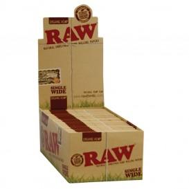 Papel Raw 1.1/4 orgánico 24 u.