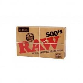 Papel Raw 500 1.1/4 20 u.