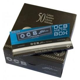 Papel OCB premium Slim 50 u.