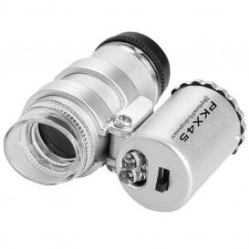 Microscopio mini con luz LED 45x