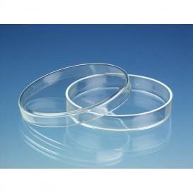 Placa Petri vidrio borosilicato