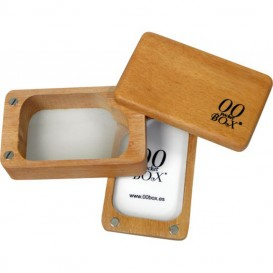 Caja curado de cedro rojo 00 Pocket Box 9 x 6 x 4 cm