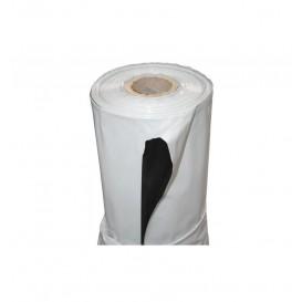 Plástico reflectante Blanco/Negro fino 340 galgas