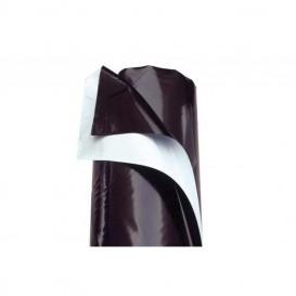 Plástico reflectante Blanco/Negro grueso 600 galgas