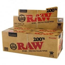 Papel Raw KS Slim 200 40 u.