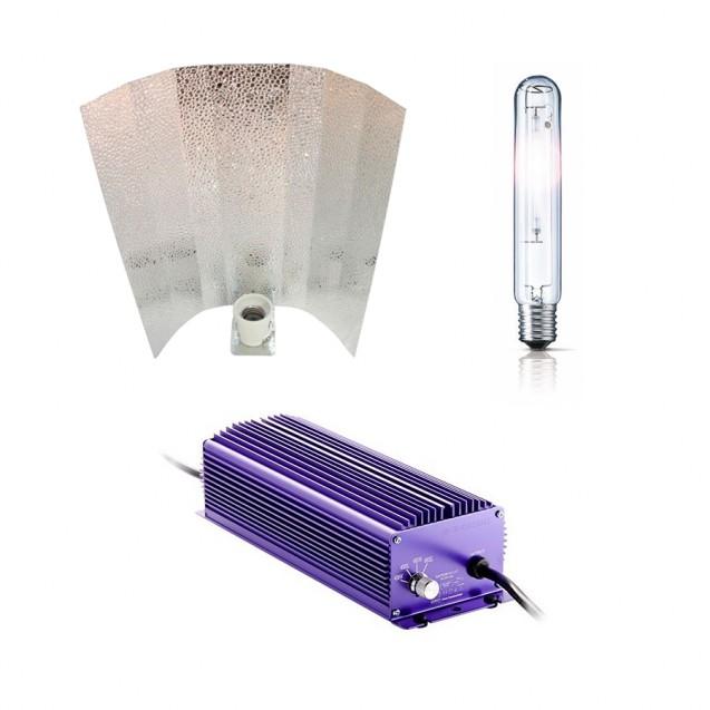 Kit de iluminación 400 W Lumatek electrónico regulable