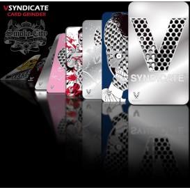 Grinder tarjeta rallador V Syndicate