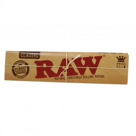 Papel Raw King Size Slim 50 u
