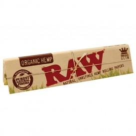 Papel Raw King Size Slim orgánico 50 u