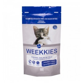 Bolsa ocultación pienso de gatos Weekkies 400 g