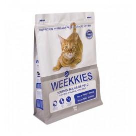 Bolsa ocultación pienso de gatos Weekkies 3 Kg