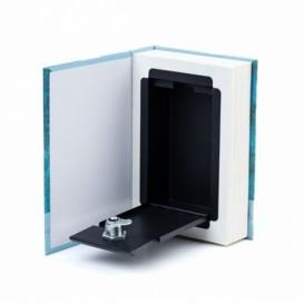 Caja libro de ocultación simple S papel