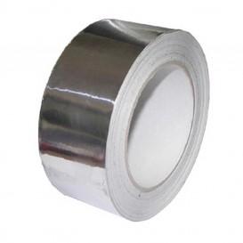 Cinta adhesiva metalizada de ventilación 50 m