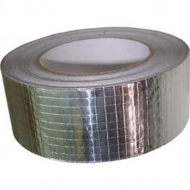 Cinta adhesiva de aluminio reforzado 50 m