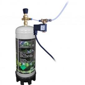 Kit CO2 con bombona desechable Neptune Hydroponics de 1 Kg