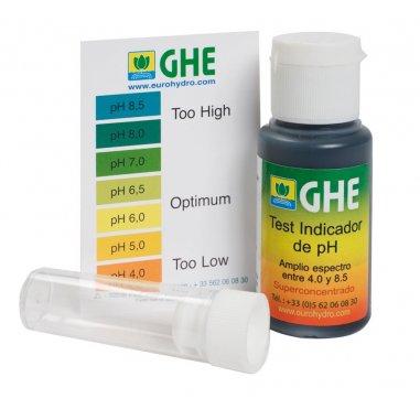 Test de pH líquido GHE 30 g