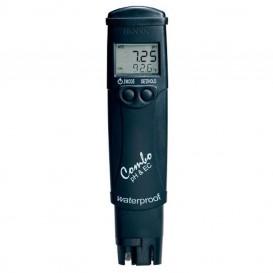 Medidor combo de pH y EC impermeable Hanna HI98130