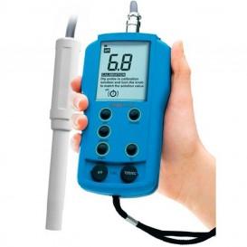 Medidor combo de pH y EC profesional con sonda HI9811-5