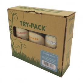 Pack de fertilizantes orgánicos Trypack Hydro de Biobizz