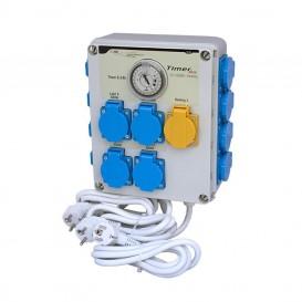 Temporizador GSE Timer Box II 12 x 600 W con activador calefacción