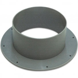 Manguito corona de plástico Ø100 mm
