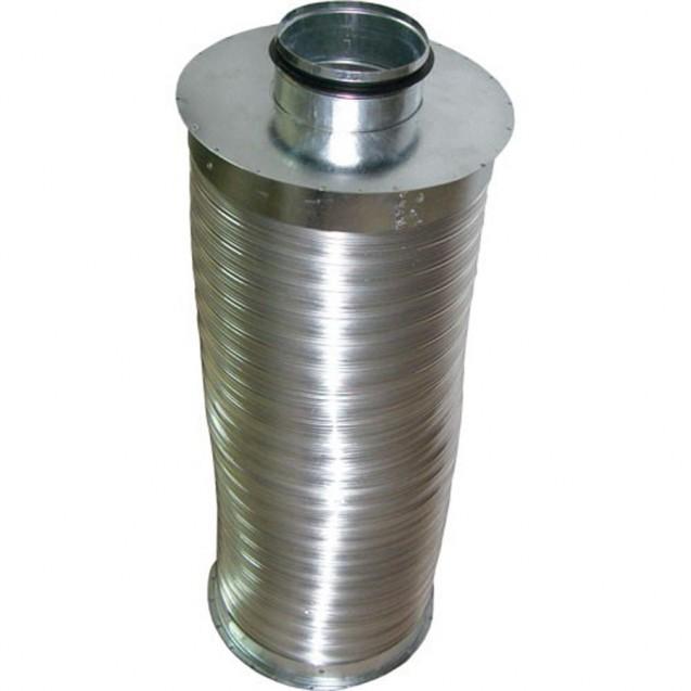 Silenciador Ø100 500 mm