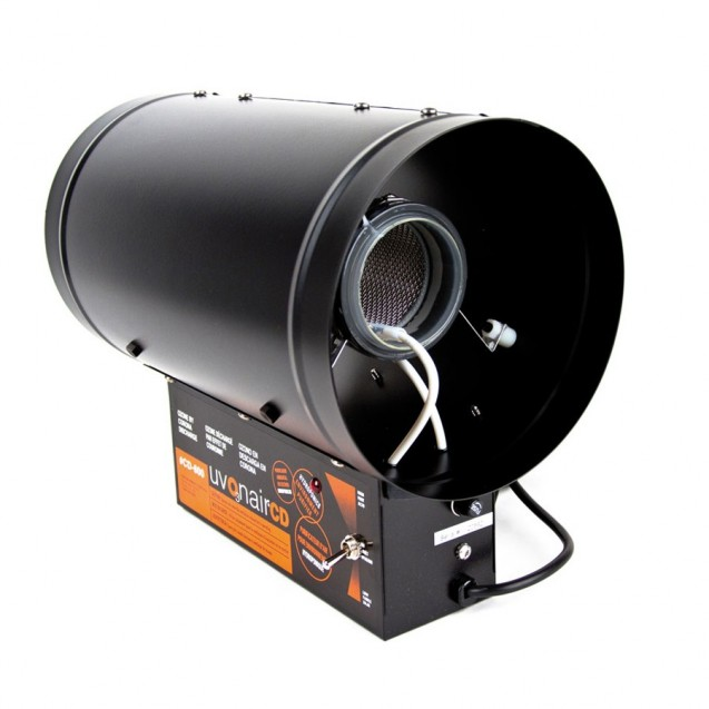 Ozonizador Uvonair corona CD-800 US-1 Ø200 mm 600 m3