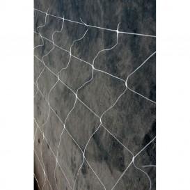 Malla de cuadros blanca 1 x 5 m