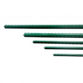 Tutor de acero plastificado Ø8 mm 0